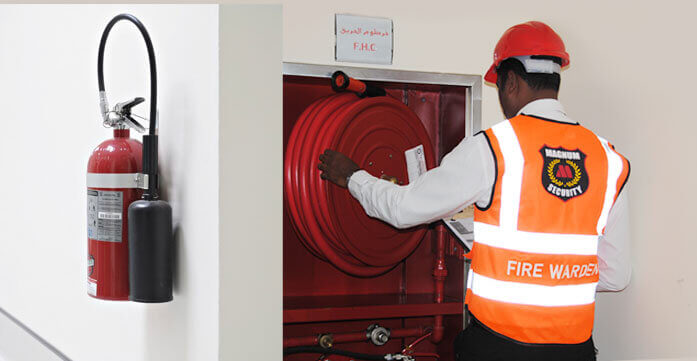 Firewarden Wardens company in Dubai